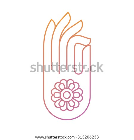 Buddha Hand Gesture 173 Free Vector Graphic Images Free Vectors
