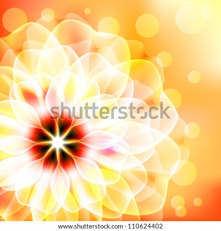 Beautiful floral card
