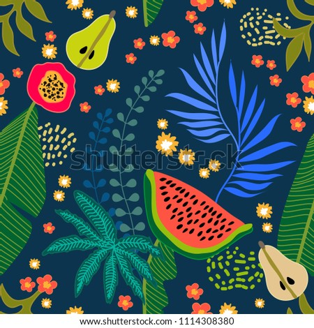 beautiful floral pattern with