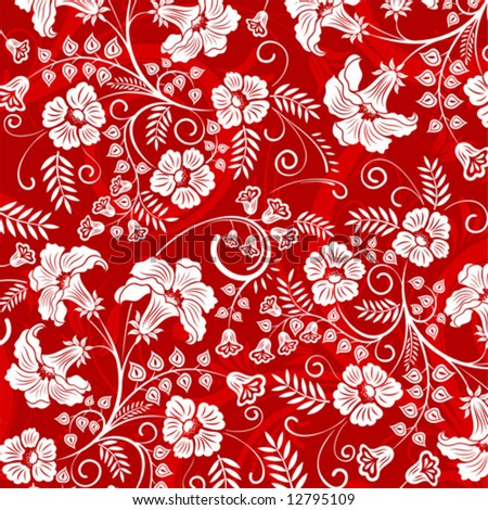 flower pattern design. Beautiful flower pattern,