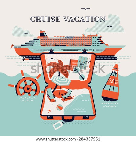 beautiful four colored cruise