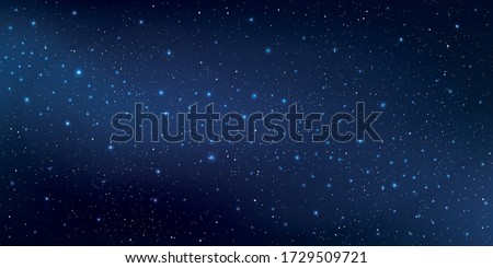 Beautiful galaxy background with nebula cosmos, Stardust and bright shining stars in universal, Vector illustration.