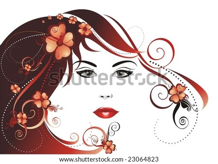 Hair Vector Illustration
