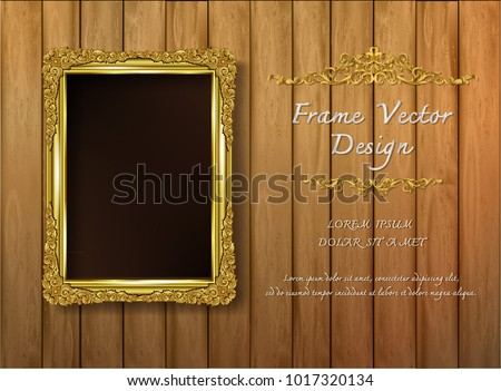 Photo Templates on Beautiful Wood Background - Download Free Vector ...