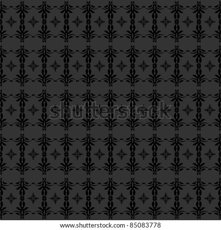 beautiful gothic pattern background