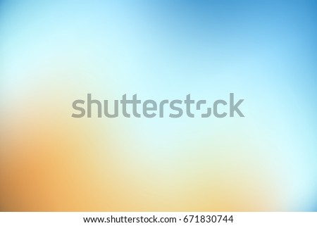 Beautiful gradient background, toning, vector, yellow and blue color, sunlight, blurred background.