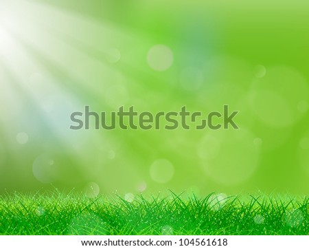 beautiful green background with