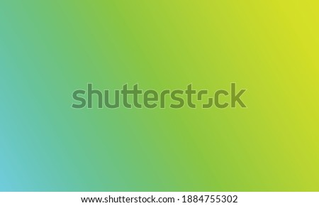 Beautiful green gradien light backdrop. Old vintage paper design illustration for websites and graphic art projects. Fluorescent and gradien light green background Stock fotó ©
