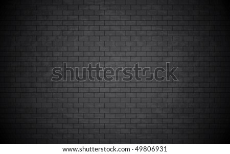 Beautiful grunge bricked wall background. Vector wallpaper.