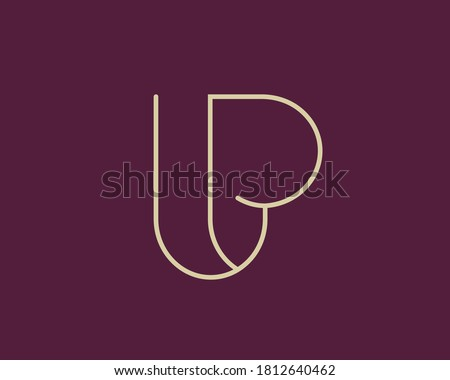 Beautiful, harmonious l and p letters combination to use as lp monogram. suitable for many business such arts, fashion, architecture ..etc   Stock fotó ©