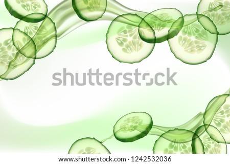 beautiful  horizontal  green