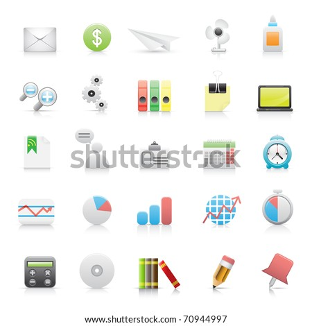 Beautiful icons for your application.