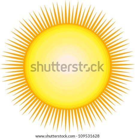 beautiful image of the sun