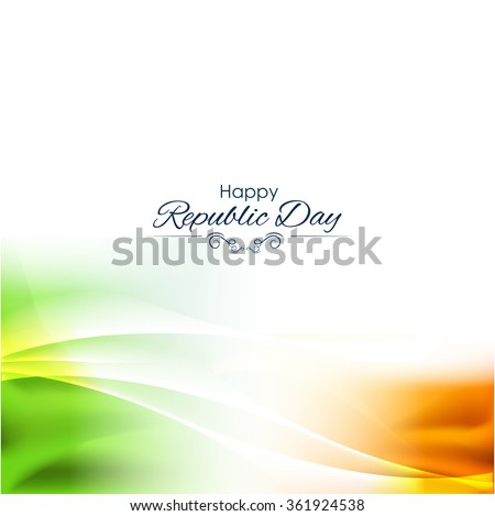 beautiful indian flag color