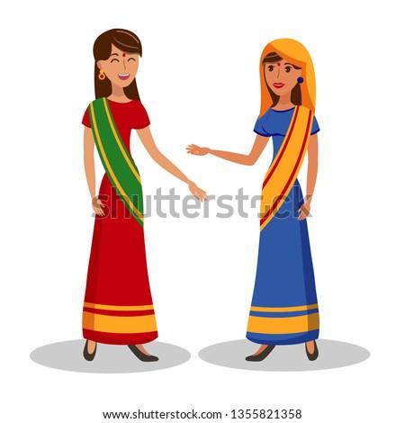 beautiful indian women flat