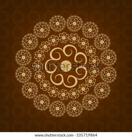 Beautiful Islamic Background. Jpeg Version Also Available In Gallery.