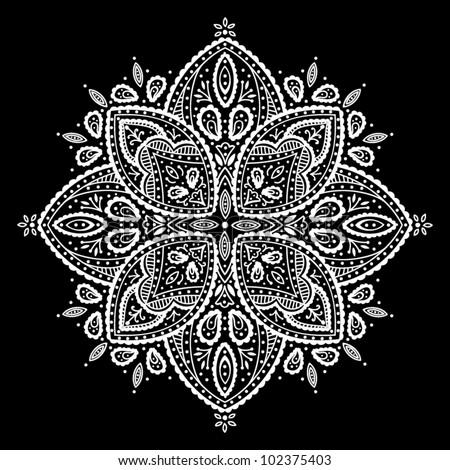Beautiful lace ornament