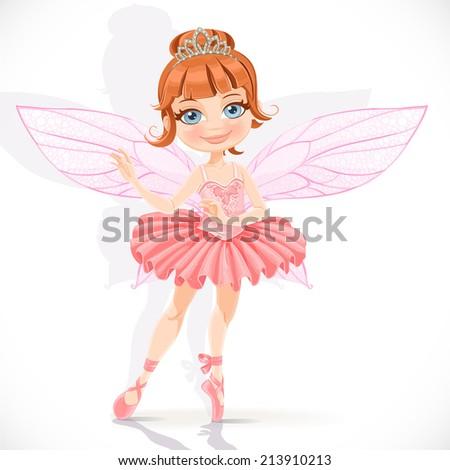 beautiful little fairy girl in