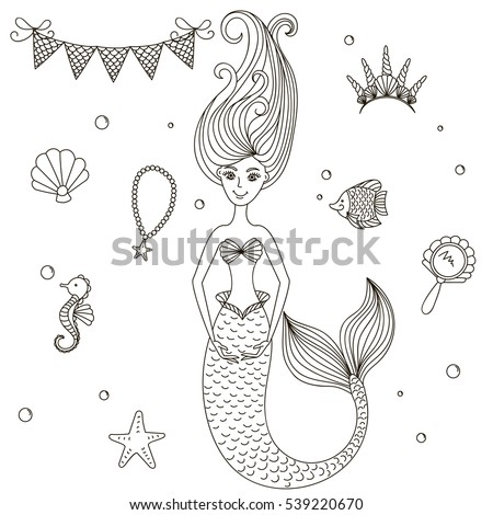 beautiful little mermaid