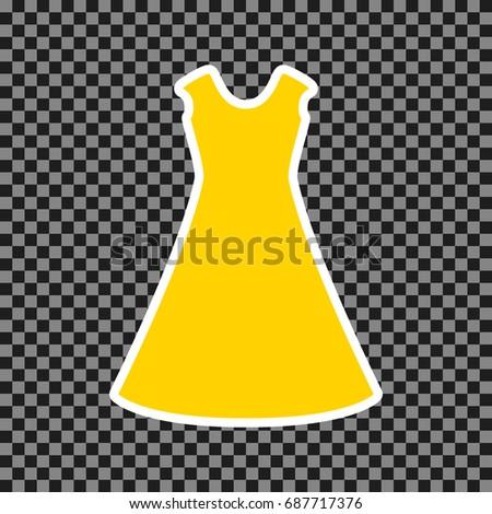 beautiful long dress sign