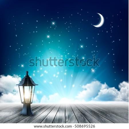 beautiful magical night