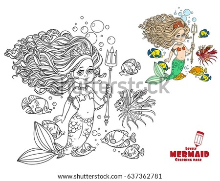 beautiful mermaid girl