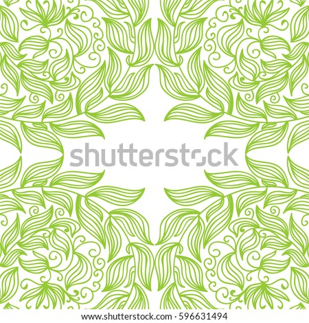 Beautiful nature background. Vector illustration.