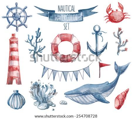 beautiful nautical set