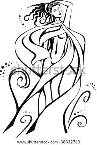 stock vector beautiful nude women 38832763 Teen Trixie by *Expatkiwi on deviantART