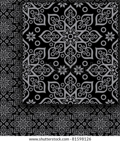 beautiful oriental (eastern) pattern