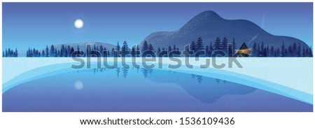 beautiful panorama background