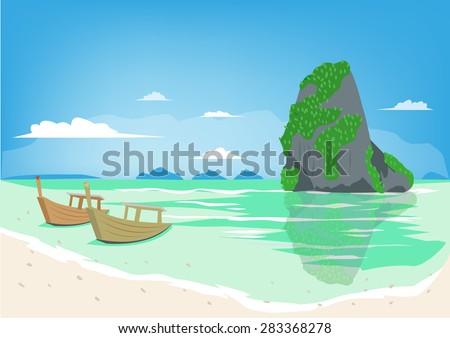 beautiful phuket thailand beach