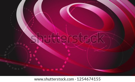 stock-vector-beautiful-pink-digital-shiny-bright-scientific-modern-endless-abstract-volumetric-circular-texture
