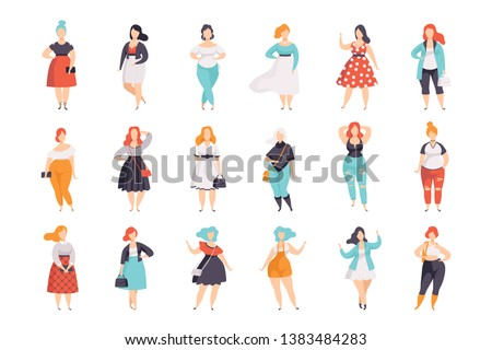 beautiful plus size women in