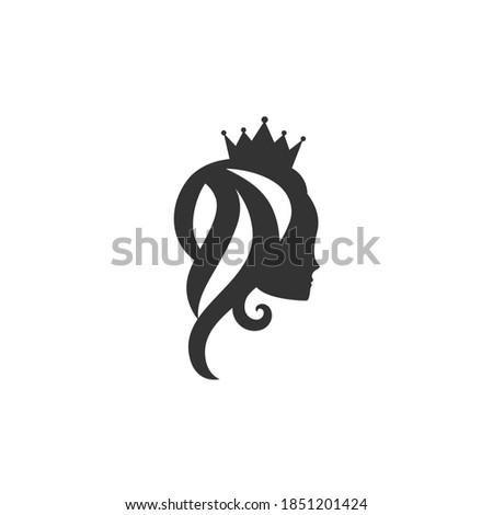 beautiful princess with crown