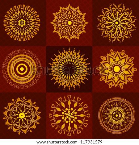 Beautiful Rangoli Designs For Diwali Festival Celebration In India