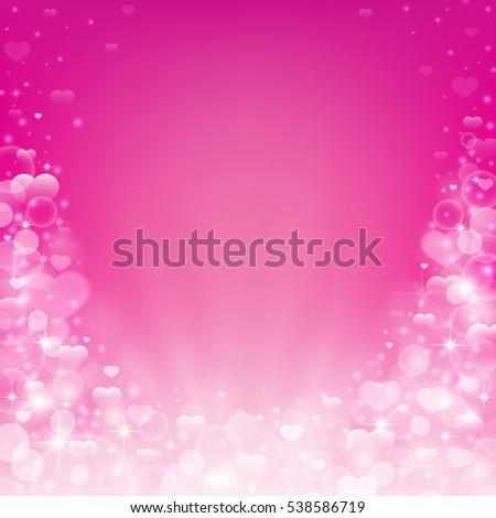 beautiful romantic pink