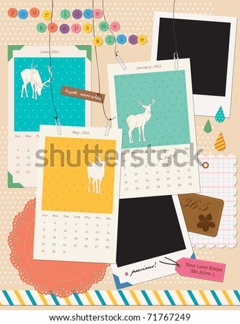 beautiful scrapbooking elements