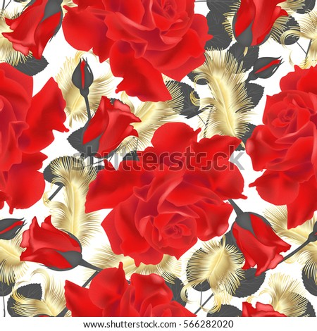 beautiful seamless pattern with