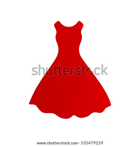 beautiful short red dress