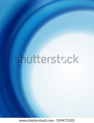 Beautiful smooth blue waves vector background. Eps 10.