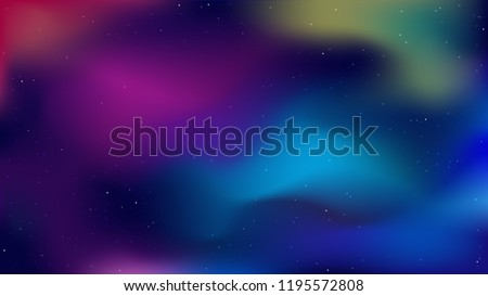beautiful space galaxy blue