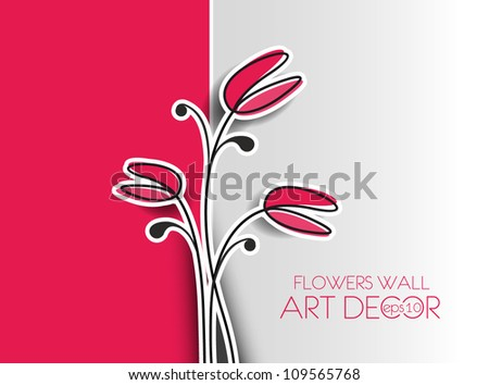 Beautiful spring flower colorful background  design.