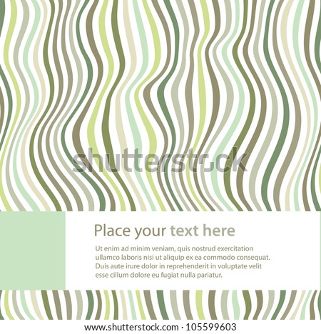 Beautiful striped background. Vector illustration