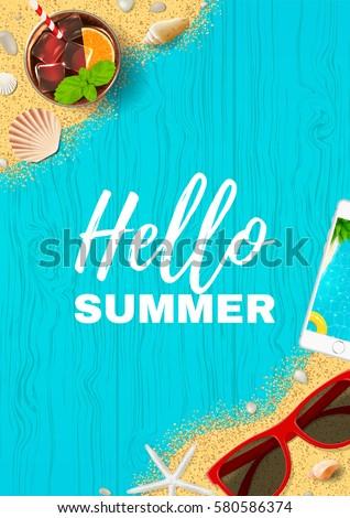 beautiful summer vacation