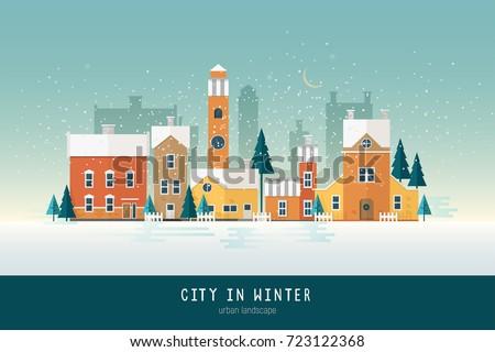 beautiful urban landscape or