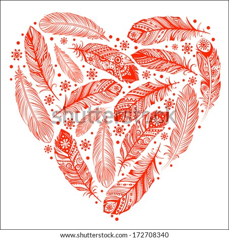 beautiful valentine's day heart