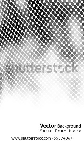Beautiful vector black/white background