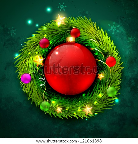 beautiful vector christmas design background