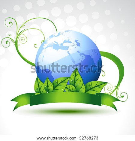 beautiful vector earth with